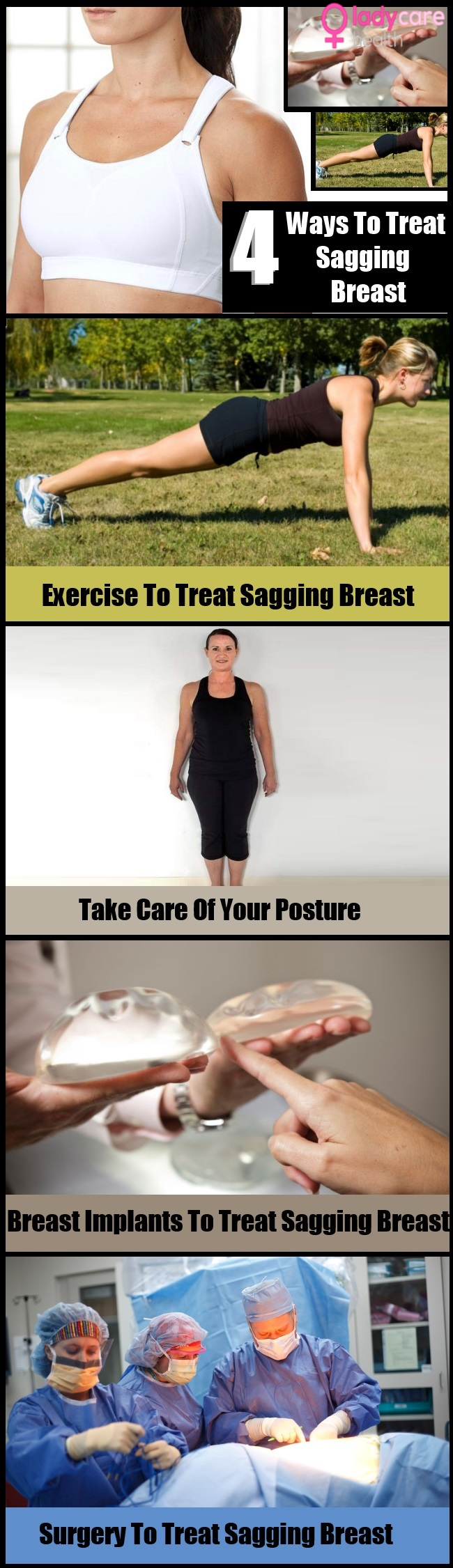 4 Ways To Treat Sagging Breast