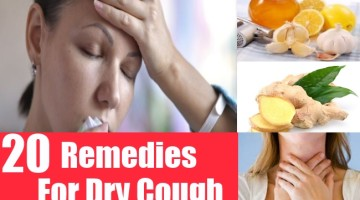 Remedies For Dry Cough